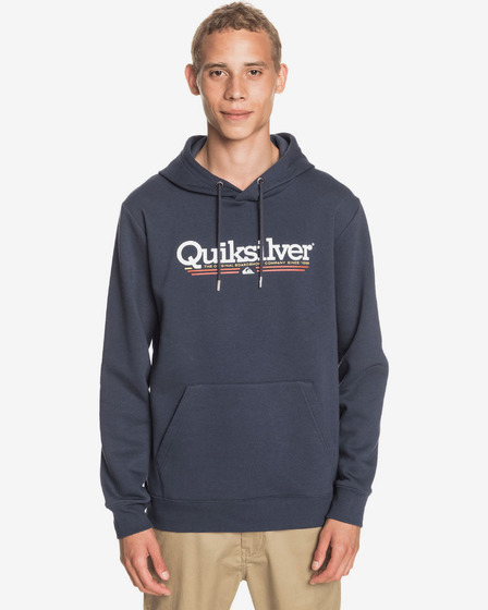 Quiksilver Tropical Lines Screen Fleece Mikina
