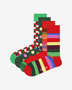 Happy Socks Classic Holiday Ponožky 4 páry